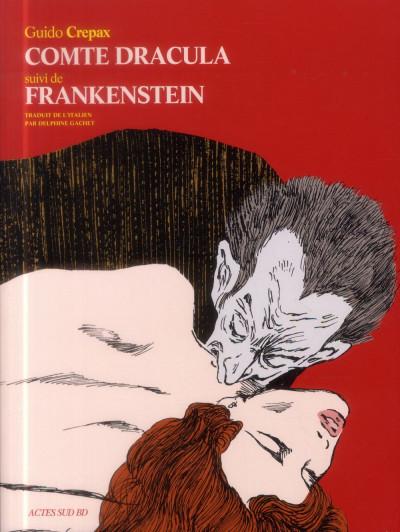 Couverture Frankenstein - Dracula
