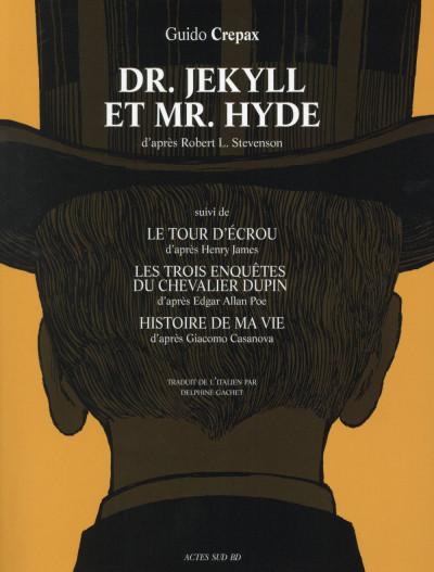 Couverture Dr Jekyll et Mr Hyde