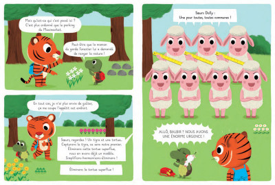 Page 3 Les trop super - Les sept soeurs Dolly