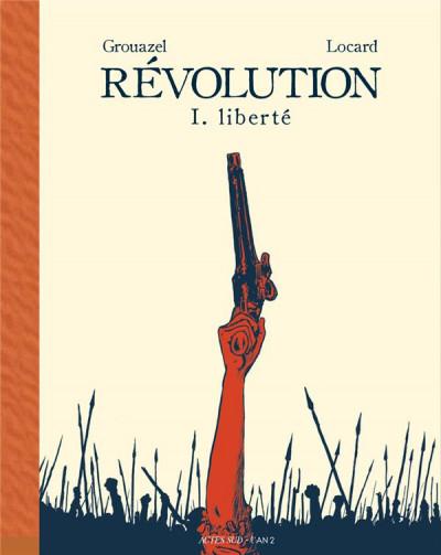 Couverture Révolution tome 1