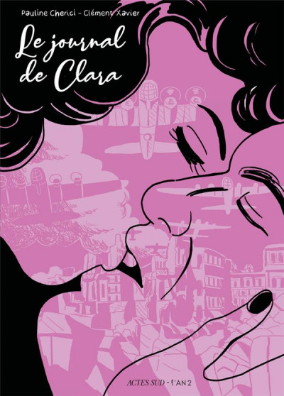 Couverture Le journal de Clara