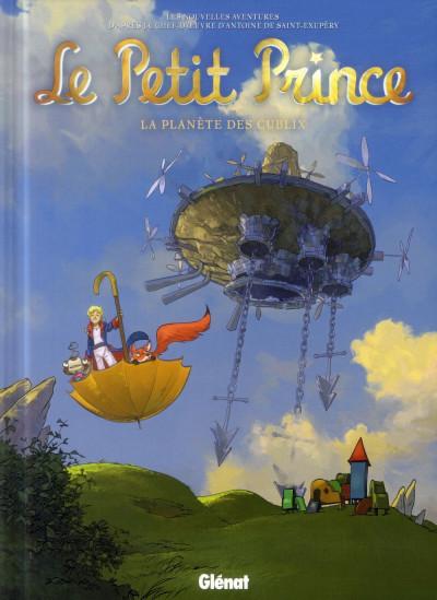 Couverture le petit prince tome 19 - la planète des Culbix