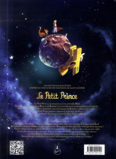 Dos le petit prince tome 19 - la planète des Culbix