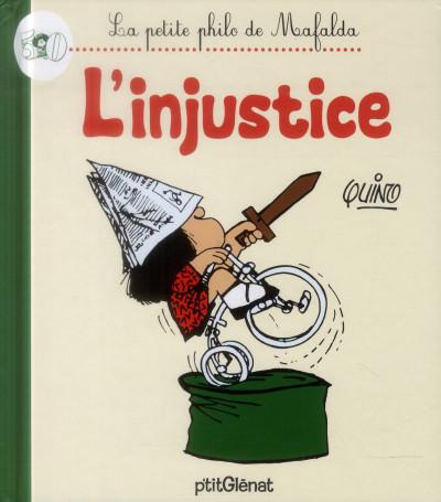 image de la petite philo de Mafalda - l'injustice