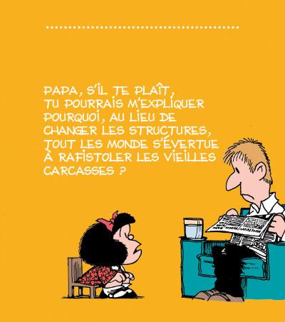 Page 2 la petite philo de Mafalda - l'injustice
