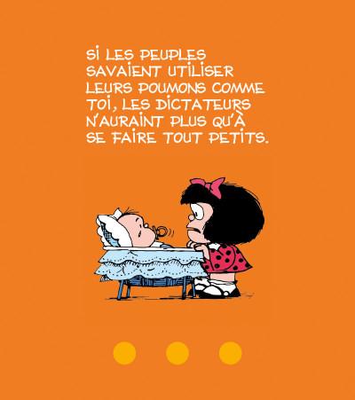Page 3 la petite philo de Mafalda - l'injustice