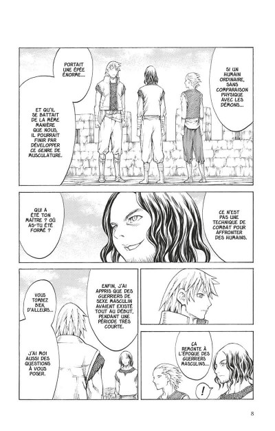 Page 7 Claymore tome 24