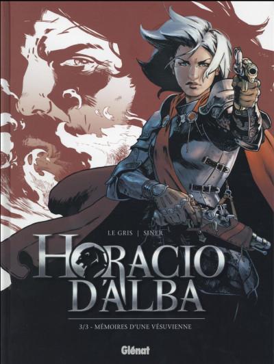 Couverture Horacio d'Alba tome 3