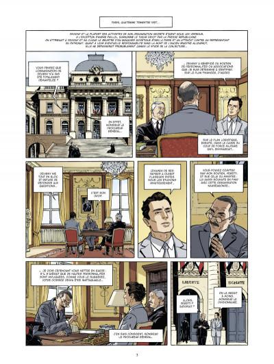 Page 1 Les mystères de la troisième république tome 3 - complot fasciste