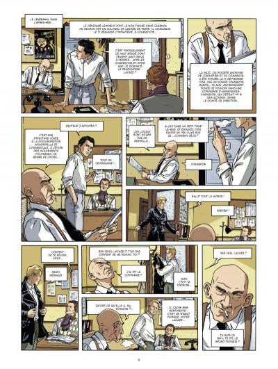 Page 4 Les mystères de la troisième république tome 3 - complot fasciste