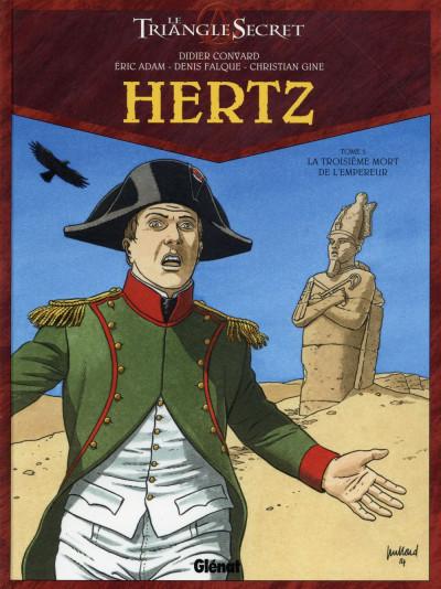 image de Le triangle secret - Hertz tome 5 - La troisième mort de l'Empereur
