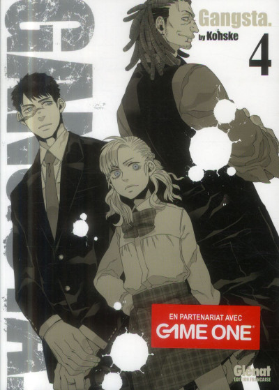 Couverture gangsta tome 4