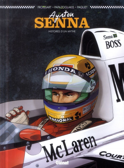 image de Ayrton Senna ; histoires d'un mythe