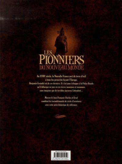 Dos pionniers nouveau monde tome 5 à 8 intégrale