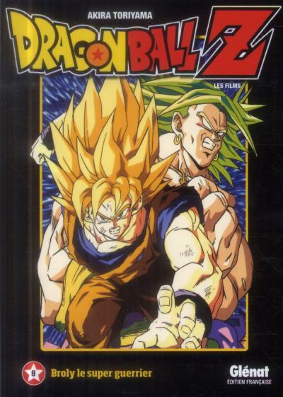 Couverture dragon ball Z - animé comics - les films tome 8 - broly le super guerrier