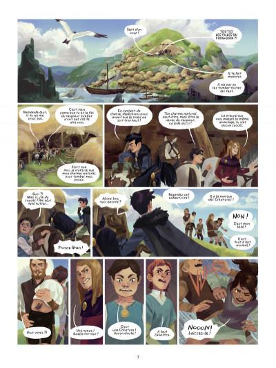 Page 1 Bran - Une histoire de l'île d'Errance