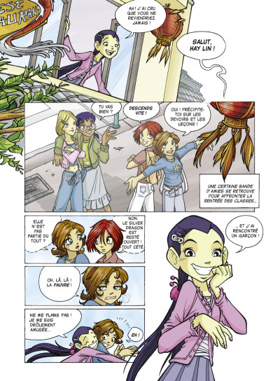 Page 2 witch saison 2 tome 6