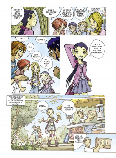 Page 3 witch saison 2 tome 6