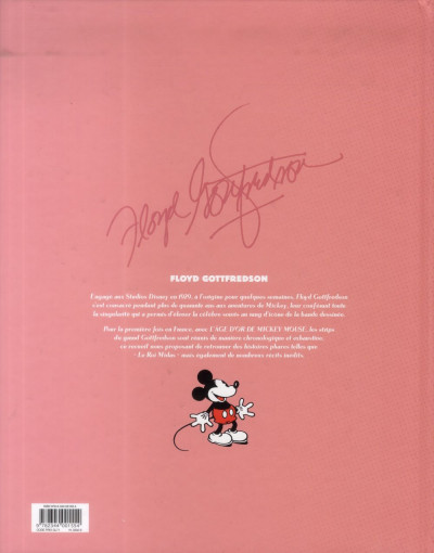 Dos L'âge d'or de mickey mouse tome 10