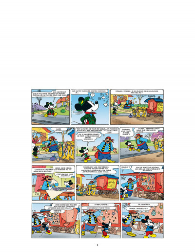 Page 1 L'âge d'or de mickey mouse tome 10