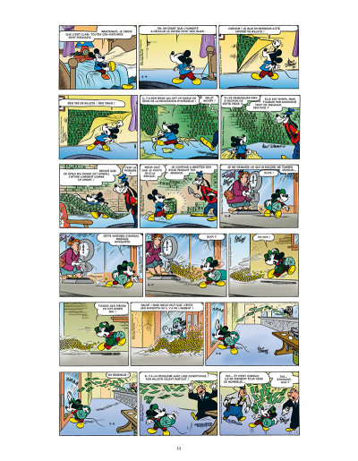 Page 3 L'âge d'or de mickey mouse tome 10