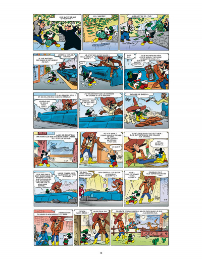 Page 4 L'âge d'or de mickey mouse tome 10