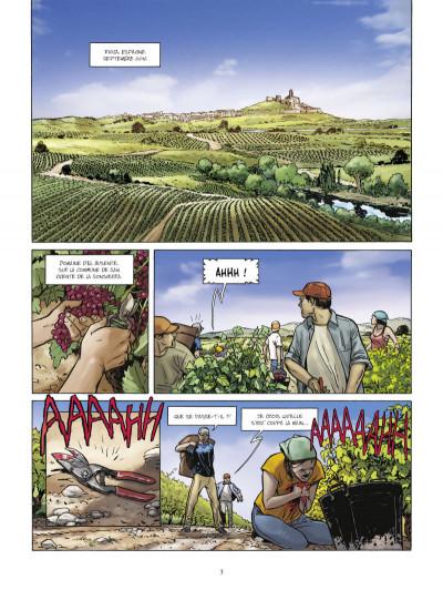 Page 1 Bodegas tome 2 - Rioja, Seconde partie