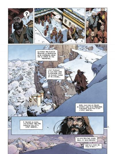 Page 2 Le troisième testament - Julius tome 4
