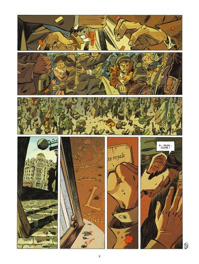 Page 4 Silas Corey tome 3 - Le testament Zarkoff 1/2