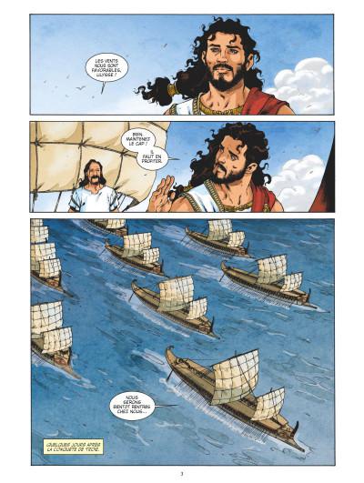 Page 1 L'odyssée tome 1