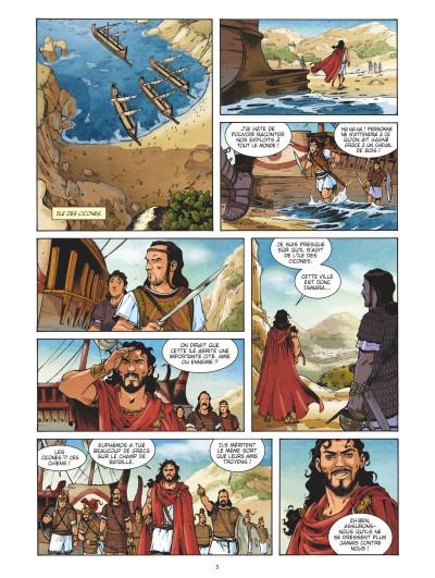 Page 3 L'odyssée tome 1