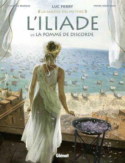 Couverture L'Iliade tome 1