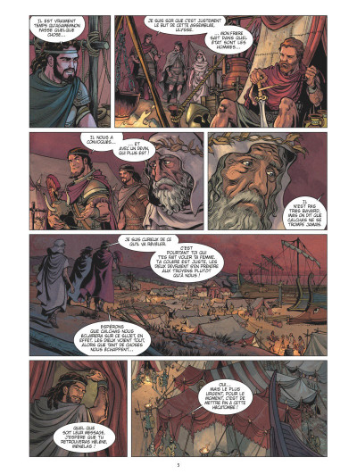 Page 3 L'Iliade tome 1