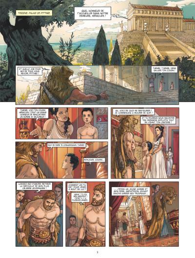 Page 1 Thésée et le minotaure