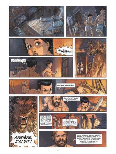 Page 2 Thésée et le minotaure