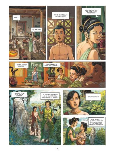Page 3 Thésée et le minotaure