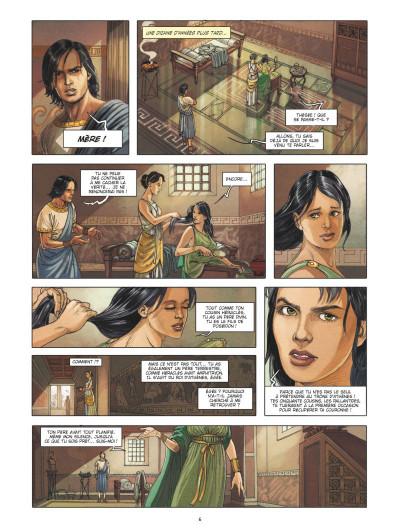 Page 4 Thésée et le minotaure