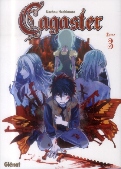 Couverture cagaster tome 3
