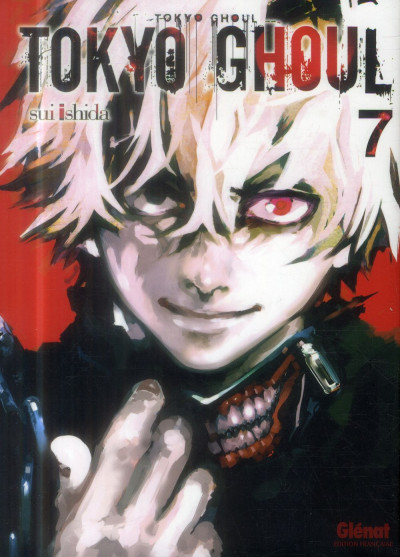 Couverture tokyo ghoul tome 7