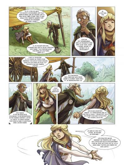 Page 3 la quête d'ewilan tome 2 - Akiro