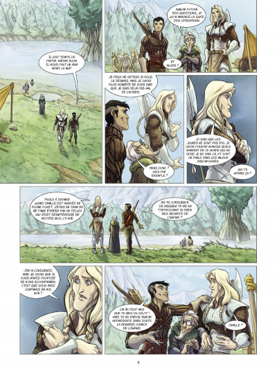 Page 4 la quête d'ewilan tome 2 - Akiro