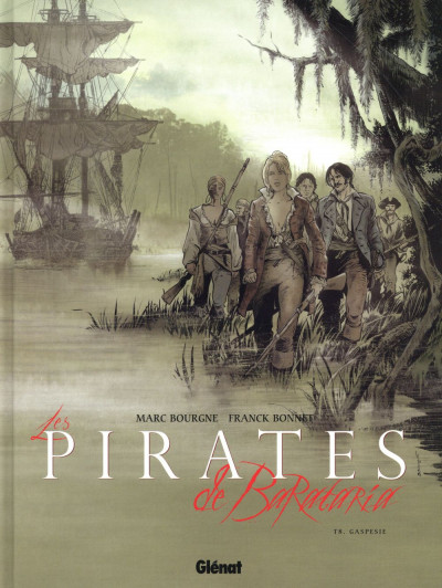 Couverture Les pirates de barataria tome 8
