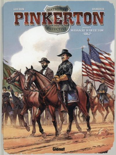 image de Pinkerton tome 3 - 1862 - dossier massacre d'Antietam