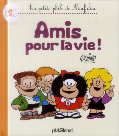 image de la petite philo de mafalda - amis pour la vie