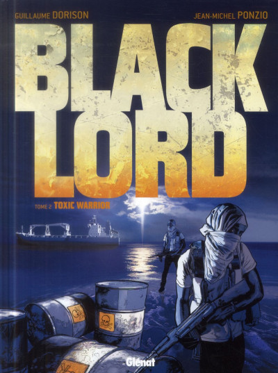 Couverture black lord tome 2 - Toxic Warrior