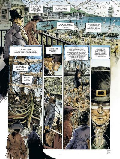 Page 3 Surcouf tome 2 - Le tigre des mers (édition 2015)