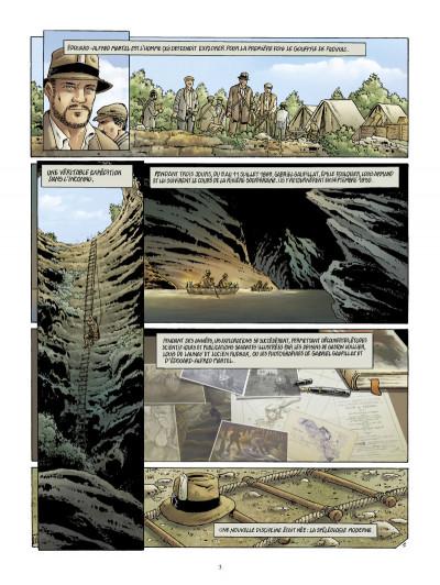 Page 1 Le gouffre de Padirac tome 2