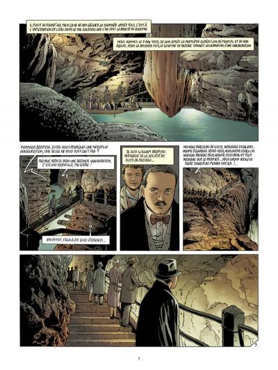 Page 3 Le gouffre de Padirac tome 2
