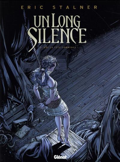 image de Un long silence tome 2 - que la fête commence !