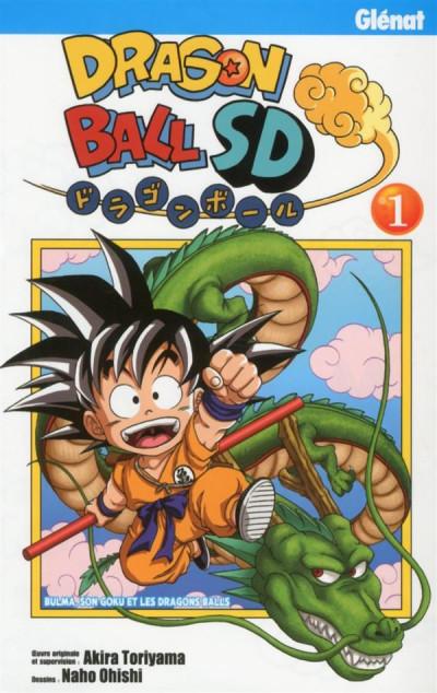 Couverture Dragon ball SD tome 1